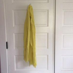 J Crew wool citron scarf